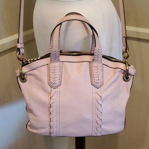 Oryany tan leather shoulder bag